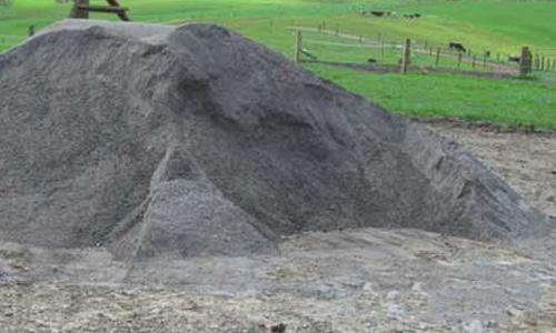 pile of fine rocks